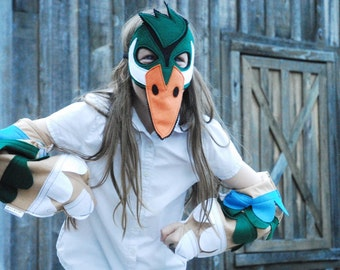 Wood Duck Costume - Mask, Wings, Mask & Wing Combo