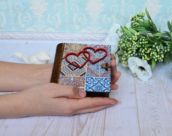 Rustic wedding box proposal box bearer ring box personalized wedding ring box ring book box boho wooden ring box engagement box wedding book