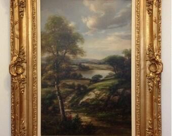 M.P. Elliott Original Oil Landscape