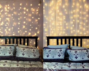 Indoor String Lighting. String Lights For Bedroom, Led Lights, Light  Curtain, Indoor