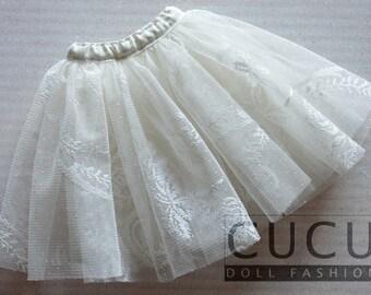 1/4 MSD & 1/3 SD BJD cute lace underskirt (Petticoat)