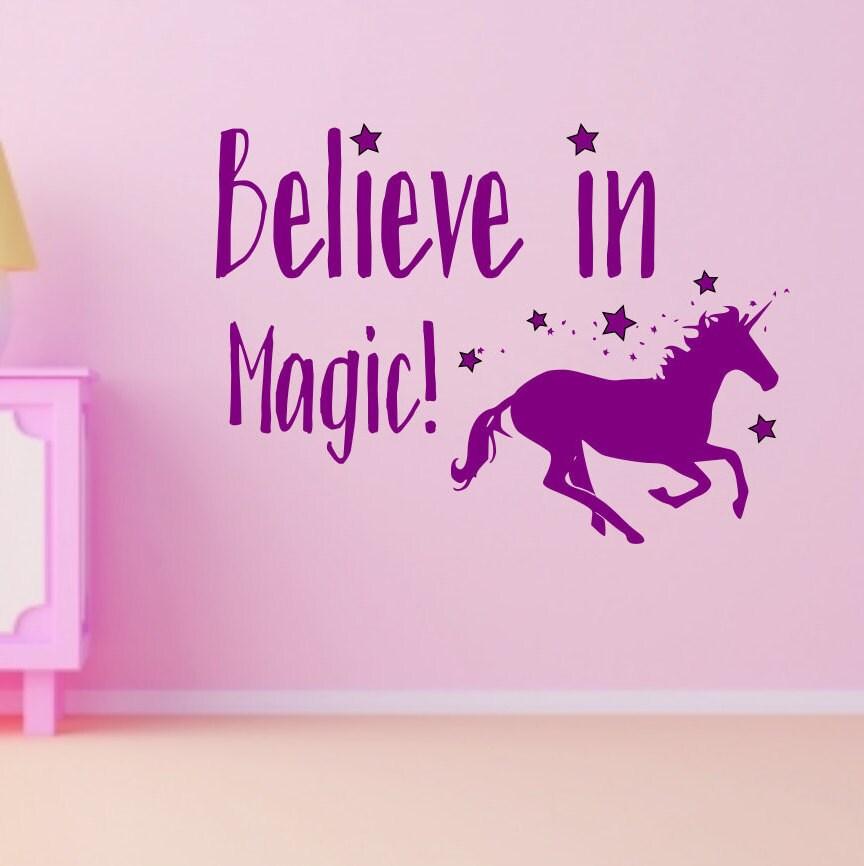 Unicorn Decal, Unicorn Art, Unicorn Wall Decal, Unicorn Wall Art, Wall  Decal Unicorn, Unicorn Decor, Magic Unicorns, Kids Print Unicorn