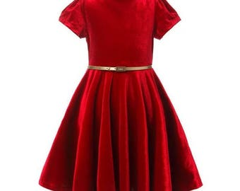 Ready to Ship! New Velvet Christmas dress