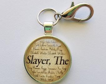 """Buffy The Vampire Slayer """"Slayer, The"""" keychain"""