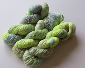 24 hrs Hand Dyed Sock Yarn for Knitting and Crochet