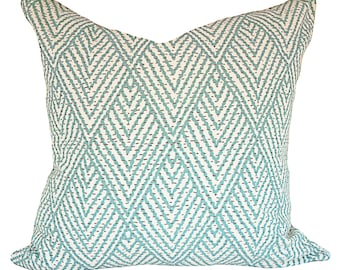 Lacefield Tahitian Stitch Decorative Pillow Cover - Throw Pillow - Both Sides - 12x16, 12x20, 14x18, 14x24, 16x16, 18x18, 20x20, 22x22