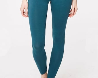 Bamboo Leggings - Ethical - Sustainable - Emerald - Yoga