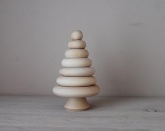 Educational toys - wood pyramid/montessori toys/baby toys