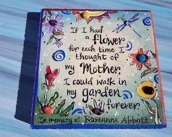 Garden Stone, Sympathy, Mother