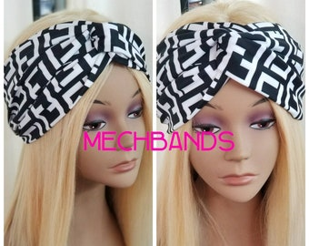 Fendi Inspired Headband