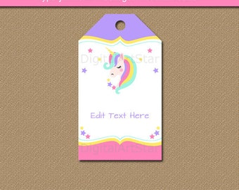 birthday tags template