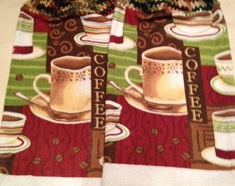 Coffee Towel set of 2