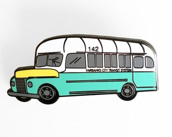 Into The Wild Bus 142 Enamel Pin