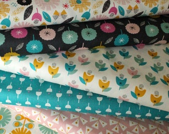 Dashwood Studio Confetti 6 Fat Quarters Fabric Bundle