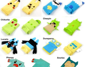 JULY PREORDER 3ds XL Case / Custom Size Pokemon pouch carrying case new 3ds / 3ds xl / nintendo switch / psp vita holder cozy