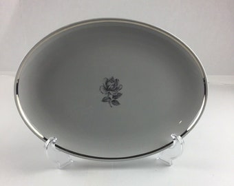 Princess Empcraft CAMEO ROSE Oval Serving Platter 13 In Plate New
