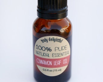 Cinnamon leaf Oil - 15ml bottle