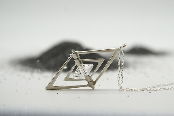 Diamond Crystal Spinner - bronze or silver