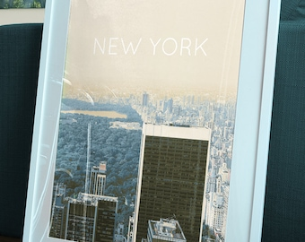 New York City Central Park Poster 11x17 18x24 24x36 Single/2-Pack