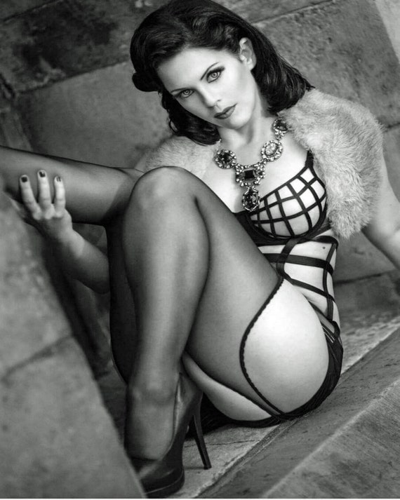 items similar to beautiful sexy lingerie pinup model 8 x 10 print