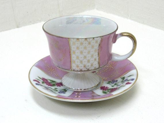 Vintage Ardco Ceramic Porcelain Tea / Coffee Cup # C-3308 Made In Japan