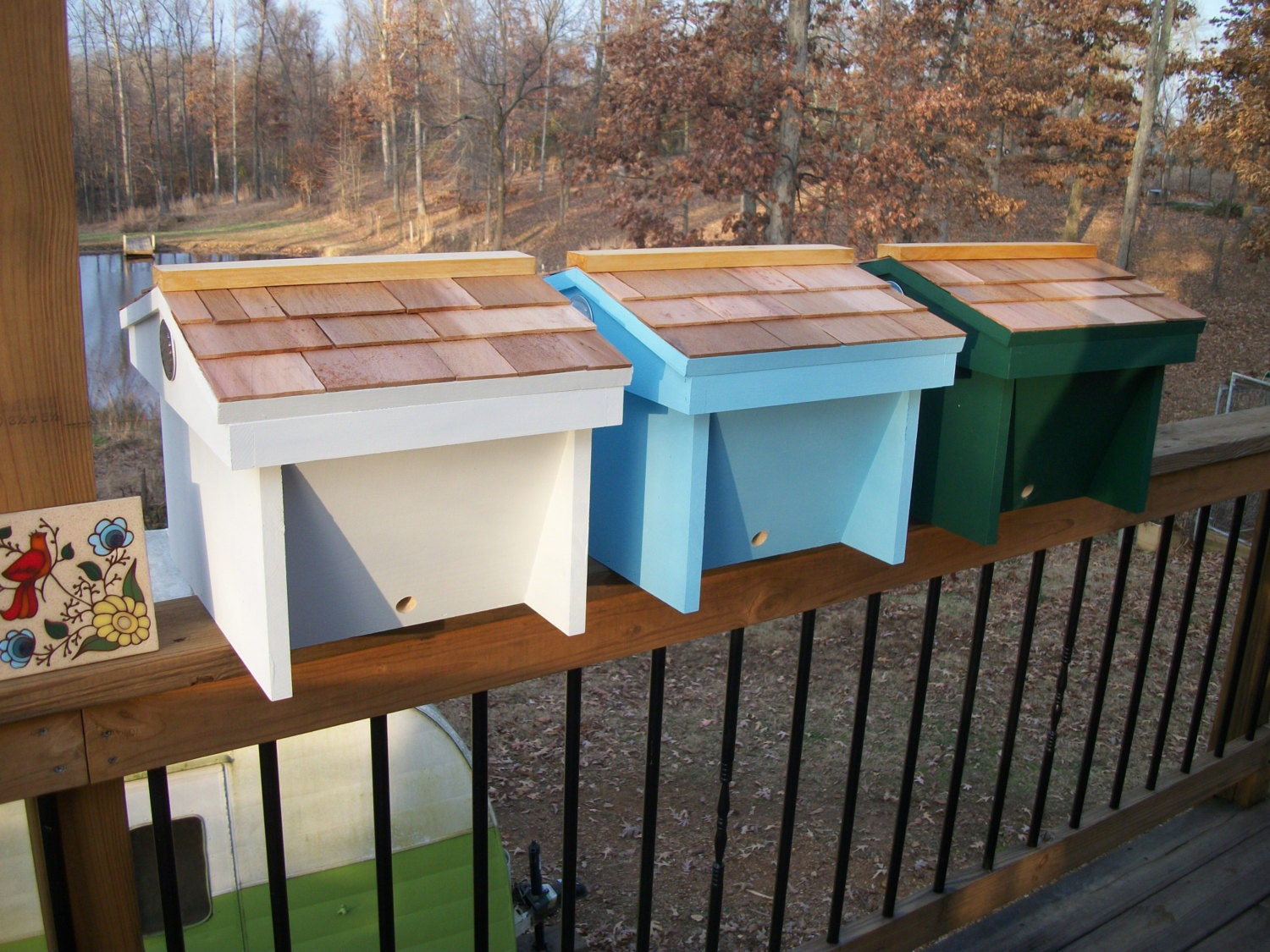 Top Bar Nuc Bee Hive w/8 top bars w/Observation Window
