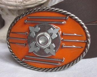 mens belt buckle belt buckles hardware belt buckle silver belt buckle nails bolts hardware mens belt buckle women's belt buckle  belt buckle