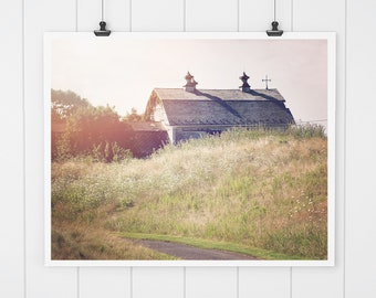 Barn Print, Modern Farmhouse Decor, Barn Picture, Landscape Photo, Barn Art, country home decor, landscape art, barn picture, wall art