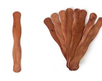 100 Cherry Fan Handle| Fan Handles| Wedding| Wedding Fan| Fan | Fan Sticks| Vintage| Wavy Fan Handle| Wood | Wedding Fan Stick| Handle