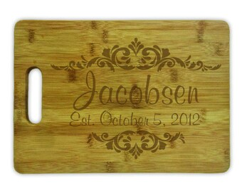 Cutting Board Personalized- 8242 Murray Hill Decorative Design Personalized