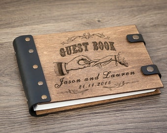 Wedding Guest Book,  Guest Book, Wedding Album, Rustic Guest Book, Wedding, Wedding Guestbook, Guestbook, Custom Guest Book, Barn Wedding