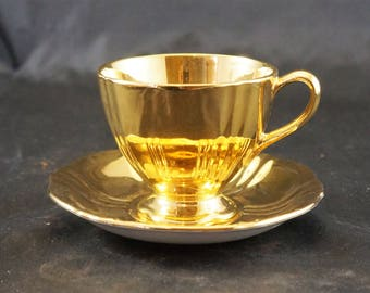 Royal Winton Cup and Saucer GOLDEN AGE