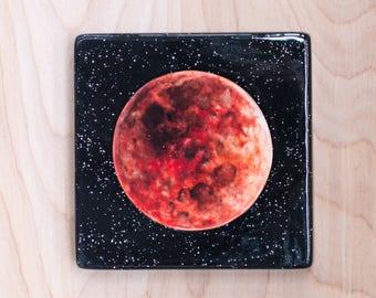 Super Blue Blood Moon Ceramic Canvas