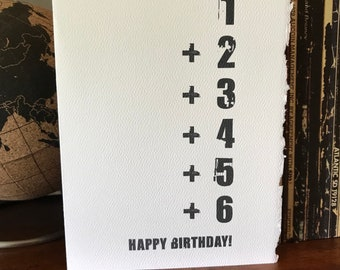 21st birthday [ birthday card / 21 ]
