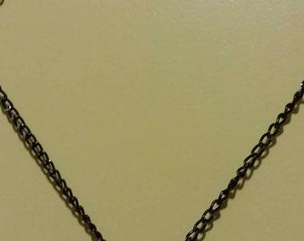 Jeweled Cross on Chain