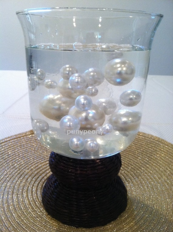 Transparent Water Absorbing Gel Beads Used For Floating Pearls