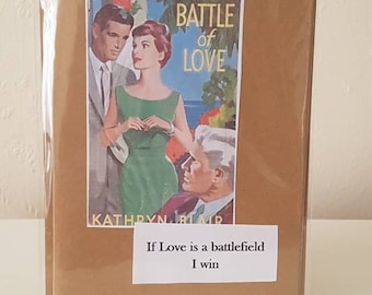 Retro, kitsch and fabulous greeting card