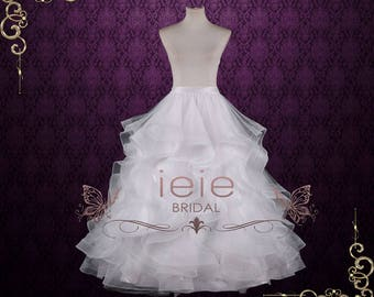 Elegant Wedding Dress Skirt with Ruffles | Elm