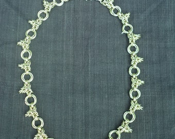 Triple Point Byzantine Necklace