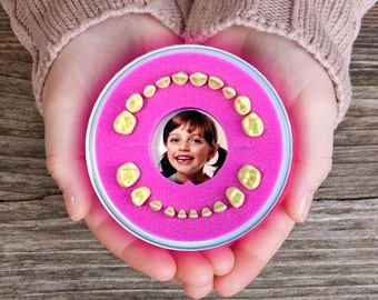 Tooth Fairy Box >>Firsty Round<< (Pink, Girl)