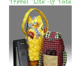 Ott Lite tote bag - Travel Lightly