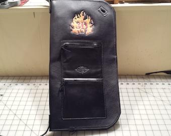 Drum Stick Bag Genuine Leather