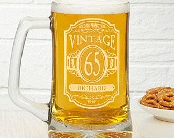 Personalized Engraving~ Beer Mug