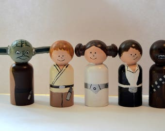 Star Wars Heroes Peg Doll Play Set