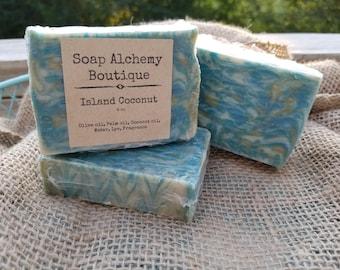 Island Coconut Soap