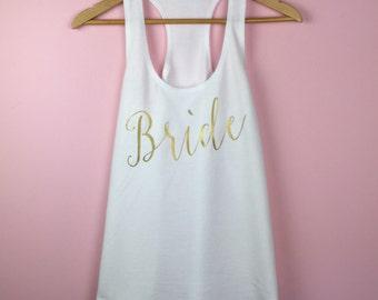 Bride Tank Top. Bride Shirt. Bride Tank. Bachelorette Tank Top. Bachelorette Shirt. Future Mrs Shirt. Mrs Tank Top. Bachelorette Party Tank.