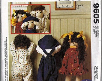 Quiet Time For Toddlers / Original McCall's Crafts Uncut Sewing Pattern 9605