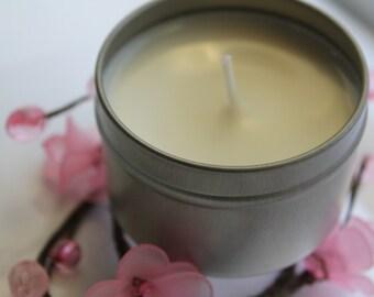 Geranium Rose Soy Candle