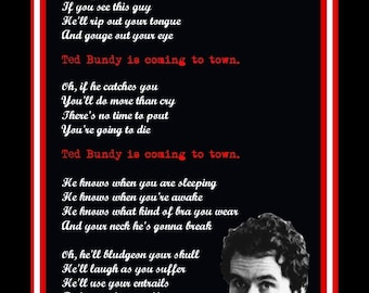 Ted Bundy holiday card serial killers
