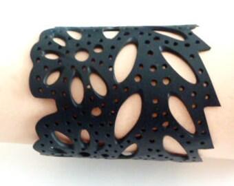 Lasercut Rubber Bracelets with beautiful patterns